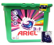 Капсулы для стирки Ariel 3 in 1 Color 23 шт.