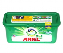 "Капсулы для стирки ""Ariel"" 3 in 1 mountain spring (30 шт.)"