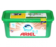 "Капсулы для стирки ""Ariel"" 3 in 1 sensitive (30 шт.)"